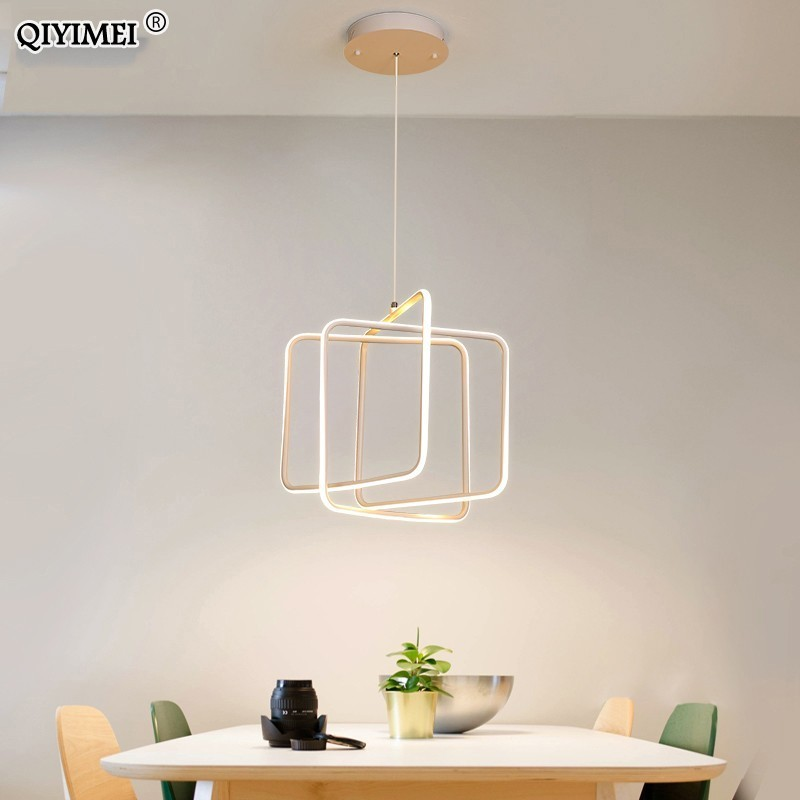 Kitchen Lighting Modern LED Pendant Lights For Dining room lustre pendente Hanging Ceiling Lamp deco maison halat avize deco Pendant Lights     -