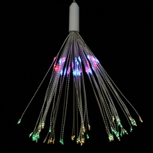 christmas lights outdoor Solar Powered Firework String Light 120LEDs Copper Wire Fairy Light Xmas holiday Party Decor home party solar powered 10m 33ft 100led starry copper wire string fairy light moon vine lamp xmas christmas wedding party decor f 35ty0