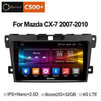 Ownice Multimedia 2Din Steering Wheel Android 8.1 Unit For Mazda Cx 7 CX 7 CX7 Car DVD Player Stereo Vehicle GPS Navigation 2.5D