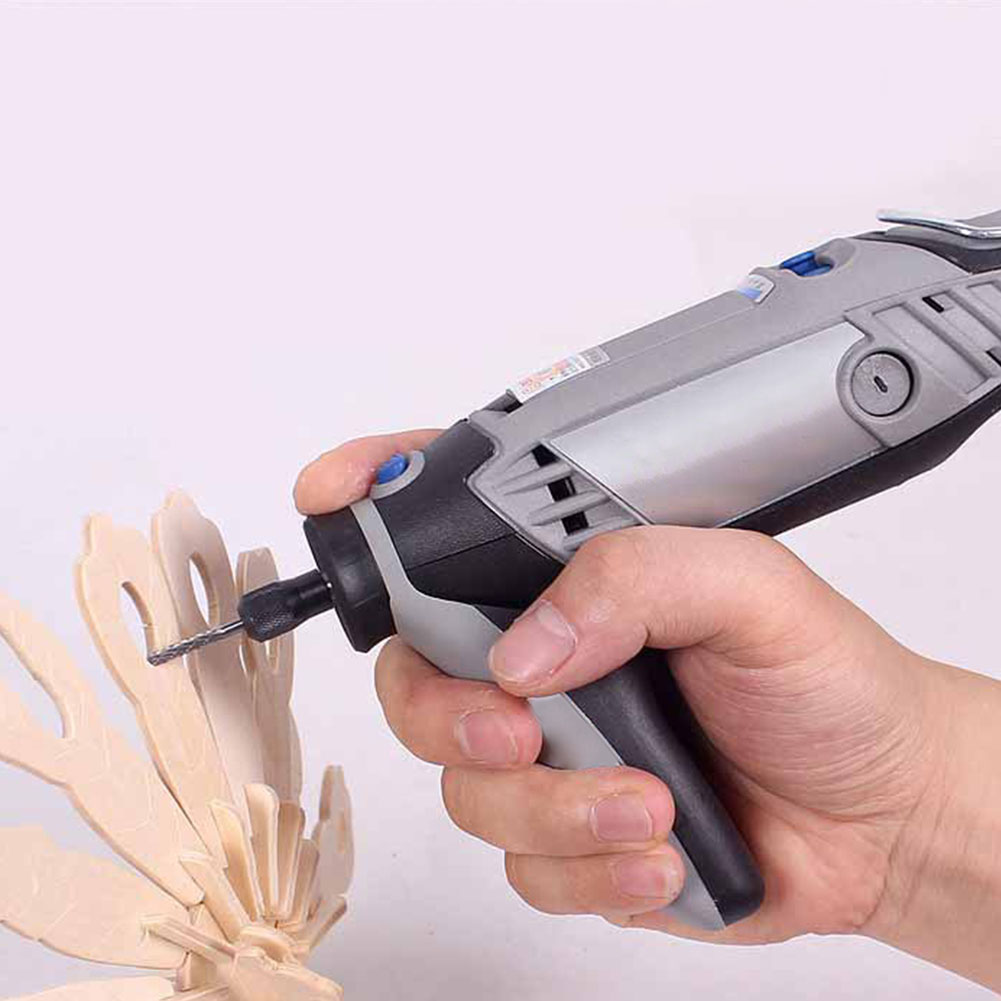 Home Mini Pen Attachment Rotary Drill Grip Grinding Machine Accessories Tools Handle For Dremel 3000 Series