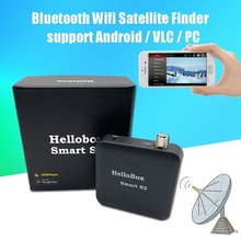 Get more info on the Satxtrem Hellobox Smart S2 DVB-S2 Receiver Dvbfinder Satellite Finder TV Player On Android Device With Wifi Bluetooth Dvbplayer
