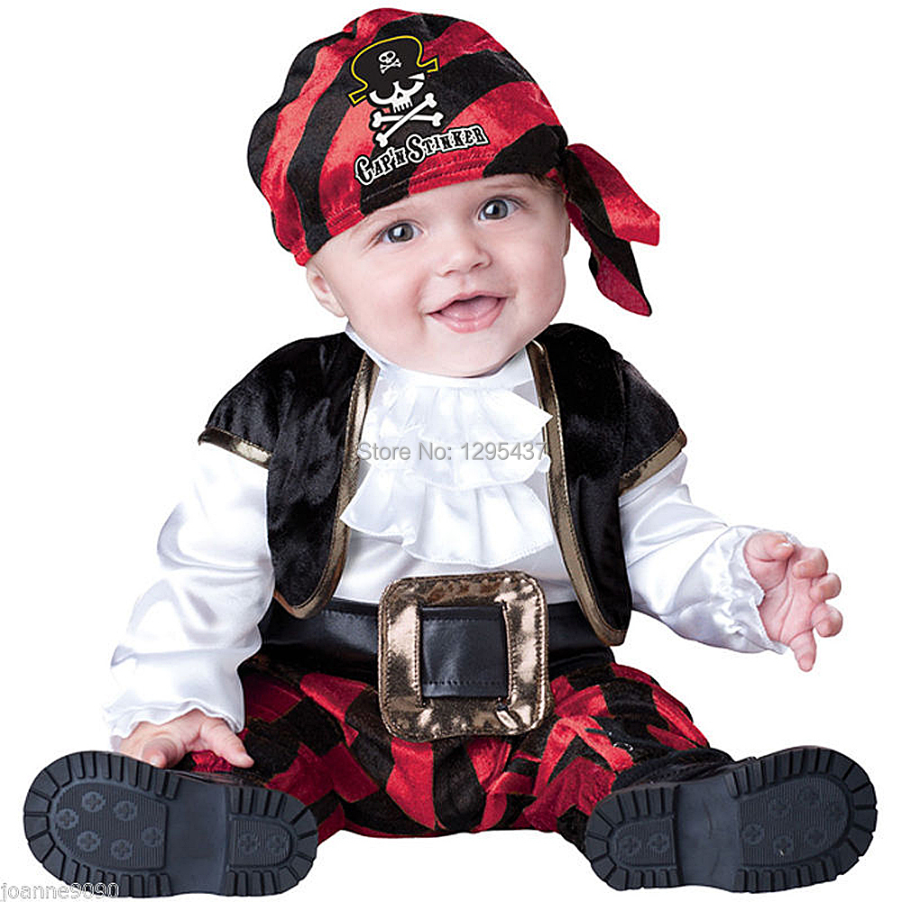 2ded5bd52 New Infant Toddler Baby Girls Boys Viking Pirate Costume Halloween Dress up  Cosplay Outfits Purim Holiday