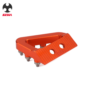 Image 3 - Motorcycle Foot Rear Brake Pedal Lever Step Tip Plate For KTM 125 250 350 450 SX SXF EXC EXCF XC XCF XCW Husqvarna TE FE TC FC