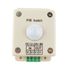 цена на LED lighting Motion Activated Sensor Switch 12 Volt DC Passive Light Control