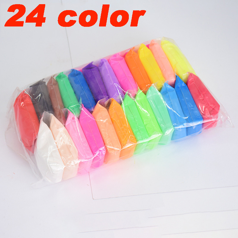 36 Colors/Set Fluffy Slime Toys Putty Soft Clay Antistress Light Plasticine Slime Supplies Sand Fidget Gum Polymer Clay For Kids