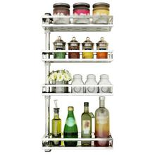 Dish Drainer Organization Pantry Organizer Malzemeleri Cucina Stainless Steel Rotate Cuisine Mutfak Kitchen Storage Rack Holder