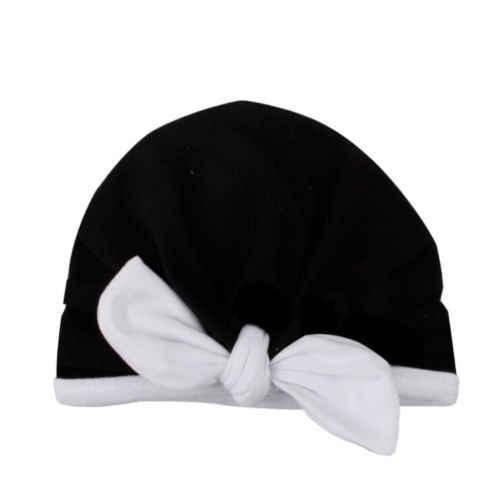 2019 Outono Inverno Quente Skullies Gorros caps para crianças Bebê encantador Bowknot Hat Beanie Scarf Turban Envoltório principal Cap Vestuário chapéus
