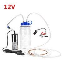 Mini 12 v bomba de óleo vácuo 2l garrafa kit de bombeamento elétrico ferramenta do agregado familiar óleo manual sucção interruptor fluido bomba água Sapatos     -
