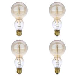 Lightme 4 шт. 230 В 40 Вт E27 110-120LM 32AK ретро лампы Эдисона Вольфрам нити форма тыквы лампочки в продаже