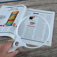 лучшая цена Three Lenses With Three LED Lights Hand-Held With Light Reading Identification Jewelry High Power Magnifier