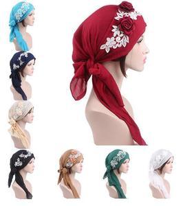 Image 1 - Bonnet Turban pour femmes musulmanes