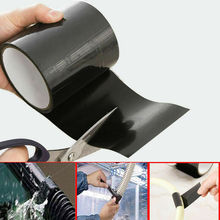 New Multi-fuction Self-adhesive Strong Black Rubber Silicone Repair Waterproof Bonding Tape Rescue Self Fusing Electrical Tape yitap rubber mastic tape self adhesive high voltage insulation electrical tape water pipe repair tape