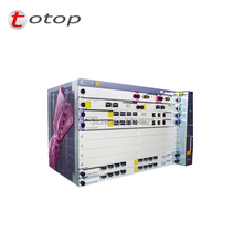 10G OLT هواوي MA5683T GPON OLT الهيكل مع 2 xSCUN + 2 xPRTE + 2x X2CS + 1 xGPFD C + + وحدة 16 منافذ