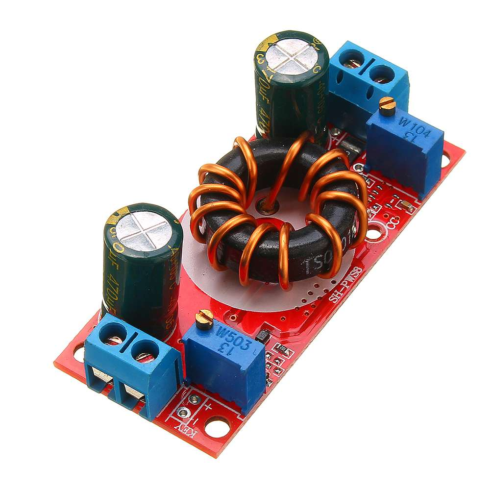 LEORY High Power 10A DC-DC Step Down Power Supply Module Constant Voltage Current Solar Charging 3.3/5/12/24V Circuits