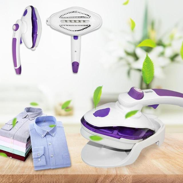 220V 1000W Mini Steam Iron Handheld Dry Cleaning Brush Steam Generator Clothes Garment Steamer Home Appliance