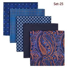 Mens Pocket Square Красочный Лот Новые Аксессуары Платье Платок Пакет Классический Подарок Лучший!