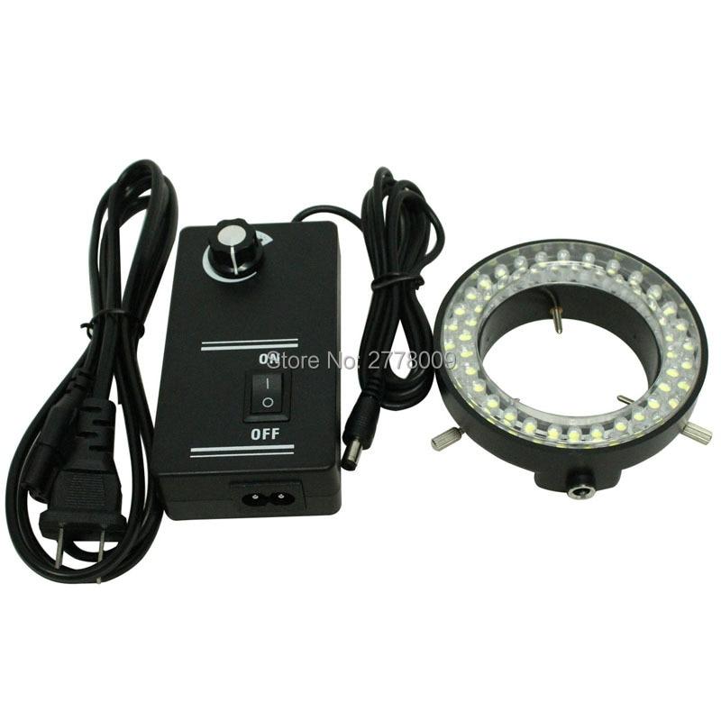 Regulowana lampa oświetleniowa z pierścieniem 60 LED Lampa do - Przyrządy pomiarowe - Zdjęcie 4