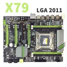 X79 LGA2011 DDR3 PC เดสก์ท็อปเมนบอร์ดคอมพิวเตอร์เมนบอร์ดคอมพิวเตอร์เหมาะสำหรับเซิร์ฟเวอร์ ECC ECC REG RAM M.2 SSD