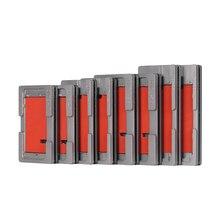ОСА вакуумная форма для ламинирования без сгиба гибкий кабель Силиконовая накладка выравнивание формы для iPhone 8 7 6S X XS MAX XR ЖК-экран ремонт