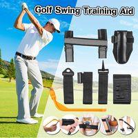 5 Pcs/Set Golf Training Aids Golf Corrector Set Posture Elbow Guide Wrist Corrector Braceband Arm Leg Bands Golf Swing Trainers