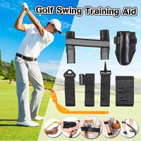 5 Pcs/Set Golf Training Aids Golf Corrector Set Posture Elbow Guide Wrist Corrector Braceband Arm Leg Bands Golf Swing Trainers