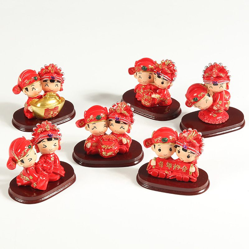 Wedding Gift China: Chinese Creative Wedding Doll Home Decor Gifts Couples