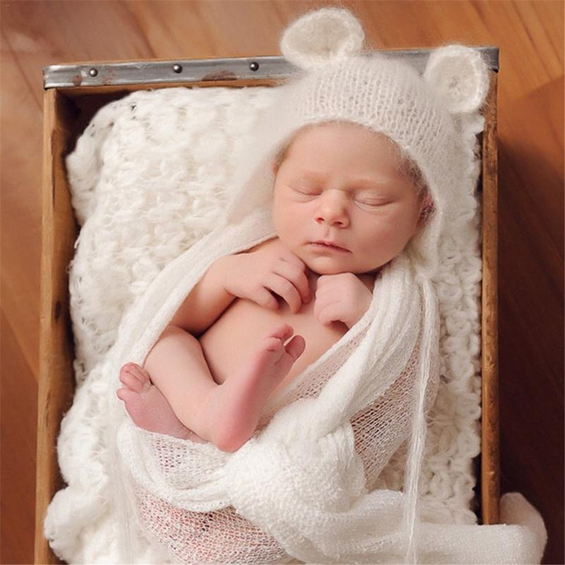 Newborn Baby Cute Crochet Knit Costume Prop Outfits Photo Photography
