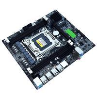 X79 E5 Desktop Computer Mainboard Dual Channels 2011 RECC Gaming Motherboard CPU Platform Support Octa Core LGA