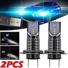 цена на 2Pcs Super Bright H7 110W LED Car Headlight Bulb Conversion Kit Canbus Error Free Bulb White 13000LM 6000K 12V Auto LED Headlamp
