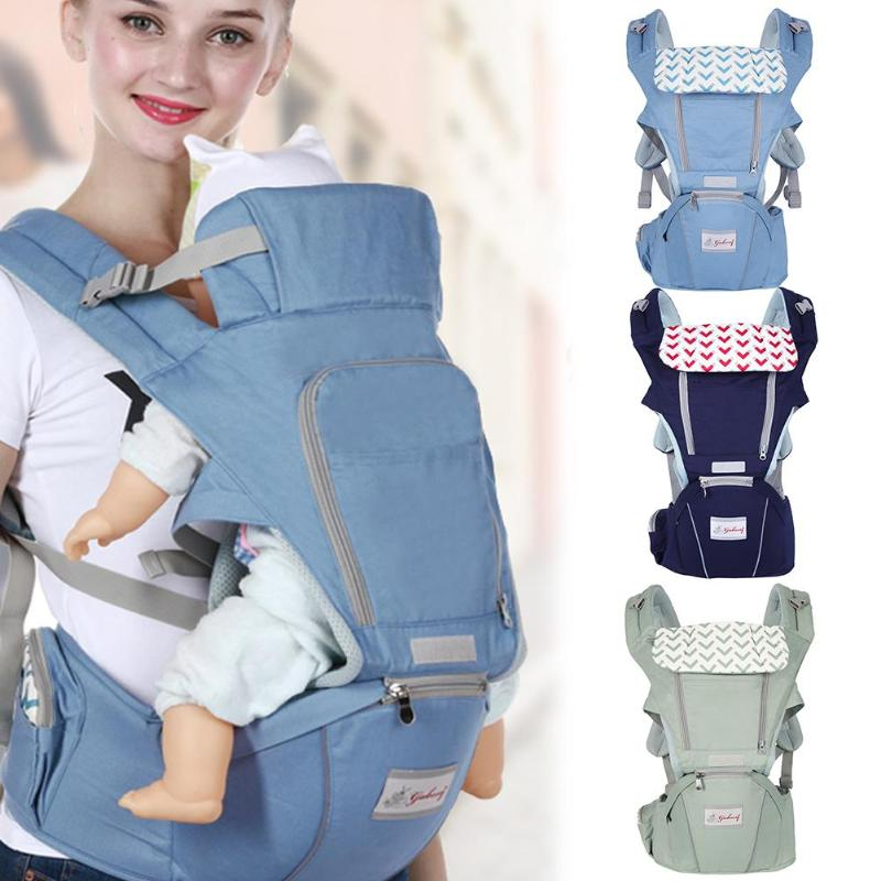 3 In 1 Multifunctional Ergonomic Baby Carrier Infant Baby Hipseat Waist Carrier Front Baby Newborn Sling Wrap Baby Carrying Belt