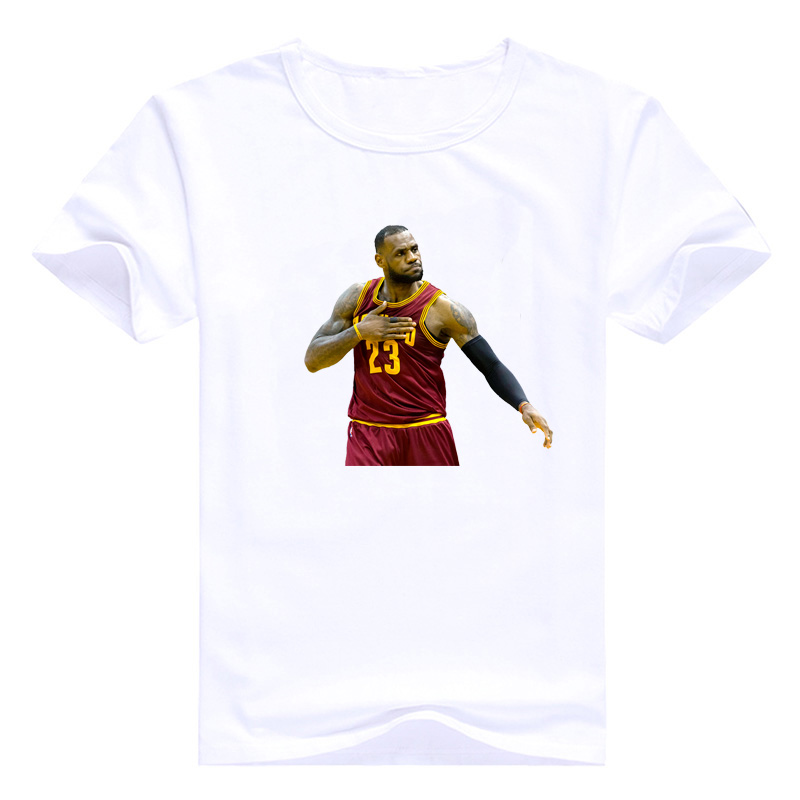 purchase cheap 5c487 efe7e US $8.84 44% OFF|Nba All Star Lebron James T Shirt 2018 New Shirt Nba  Lebron James Lakers T shirt Mens Tshirts Short Sleeve Regular Oneck Tops-in  ...