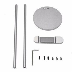 Image 5 - LEORY support de casque en alliage daluminium avec Base anti dérapante support de support de Stents de casque en métal CNC 276x94x100mm
