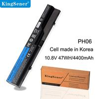 KingSener PH06 bateria do HP ProBook 4325 s 4320 s 4321 s 420 425 4520 s 4326 s 4420 s 4421 s 4425 s 4525 S HSTNN LB1A/CB1A 593572 001 w Akumulatory do laptopów od Komputer i biuro na
