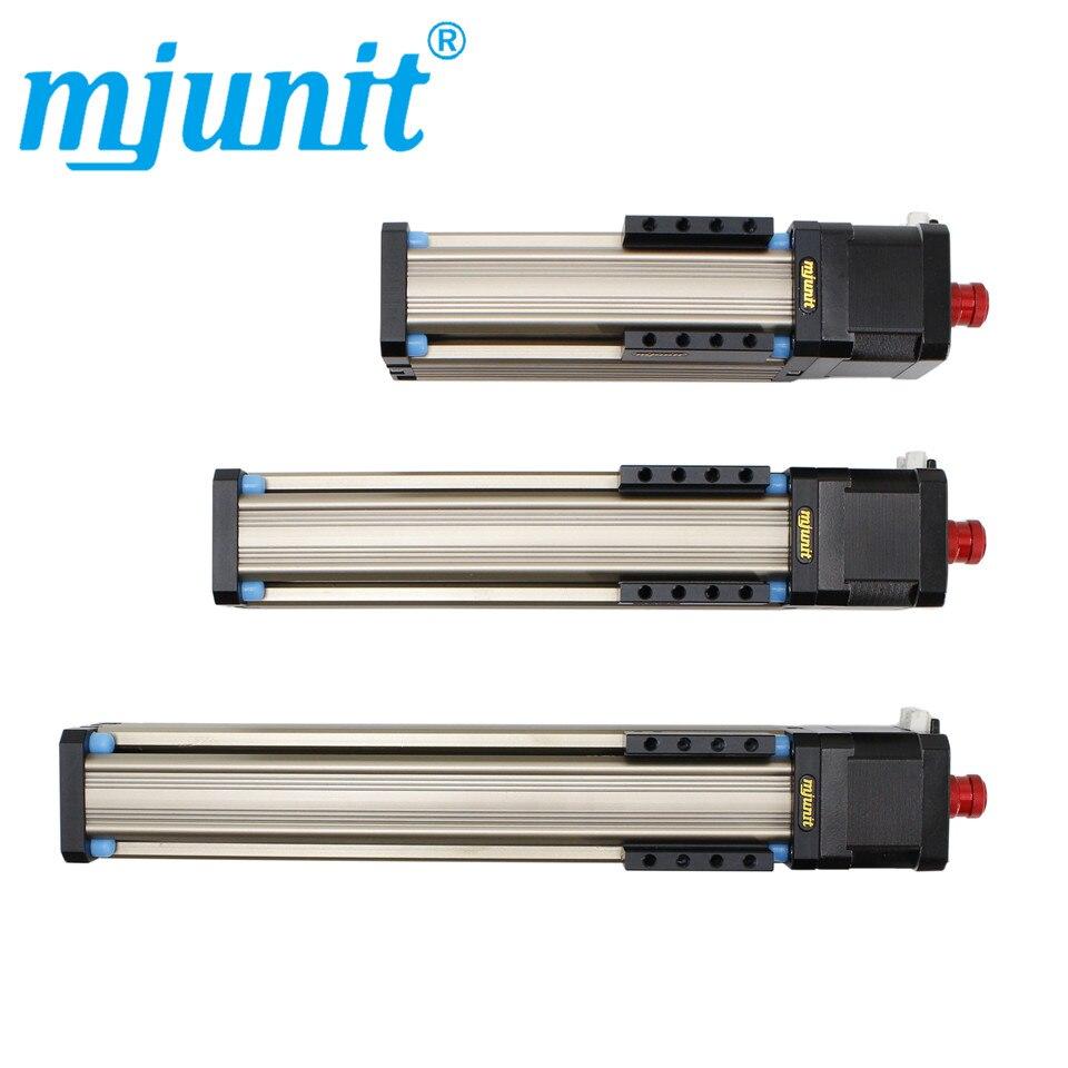 Mjunit MJ42 guide linéaire tige de vis de précision avec 42 écrou de vis moteur ensemble de coulisse 150mm course