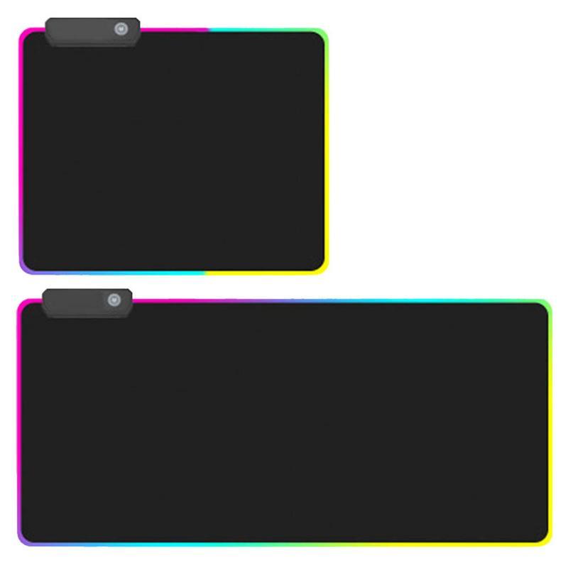 Gaming Maus Pad RGB Übergroßen Glowing LED Extended Beleuchtet Tastatur Verdicken Bunte Für PC Computer Laptop