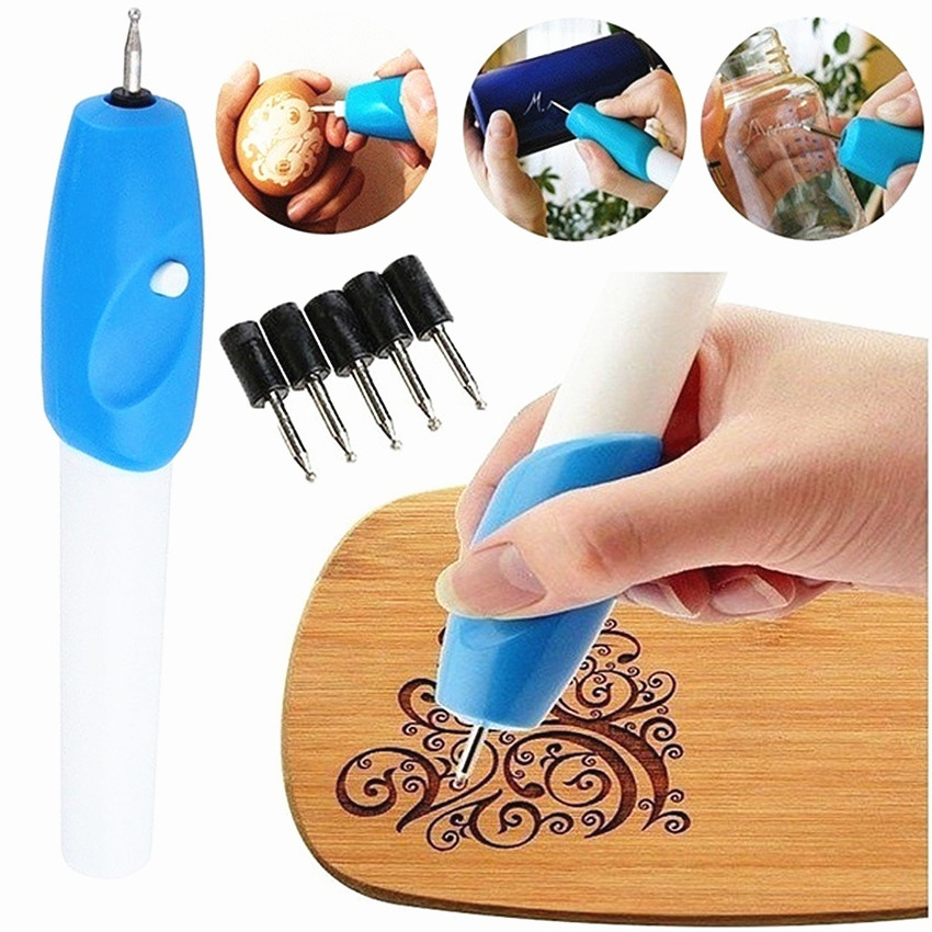 Drawing Toys Handheld Engraving Etching Hobby Craft Pen Rotary Tool For Glass Metal Wood