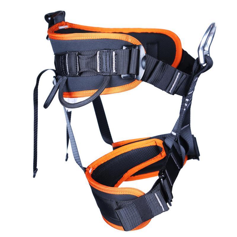 Camping en plein air randonnée harnais corde d'escalade demi-corps taille soutien ceinture de sécurité harnais aérien mur équipement