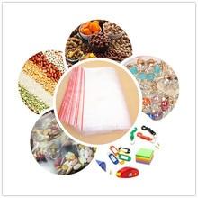 custom small daily accessories storage clear plastic baggies ziplock bag 7x9cm 9x12cm 10x15cm adjustable jewelry