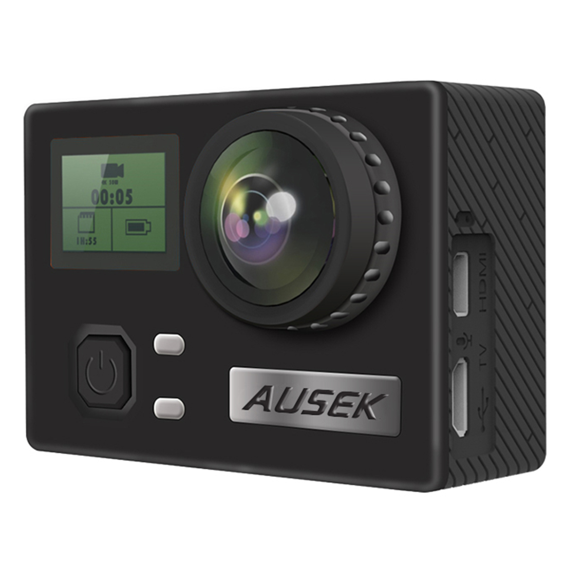 Unterhaltungselektronik Bescheiden Ausek Private Modus Ultra-dünne 4 K Sport Kamera Wasserdichte Kamera Wifi Antenne Dv Gyroskop Anti-schütteln