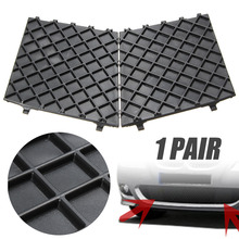 hot deal buy car exterior accessories new pair l&r front bumper lower mesh grill trim cover for bmw e60 e61 m sport