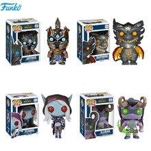 FUNKO POP WOW Welt von Warcraft Thema #14 ILLIDAN #15 ARTHAS #30 SYLVANAS Action figuren Spielzeug Sammeln Modell Vinyl Puppen