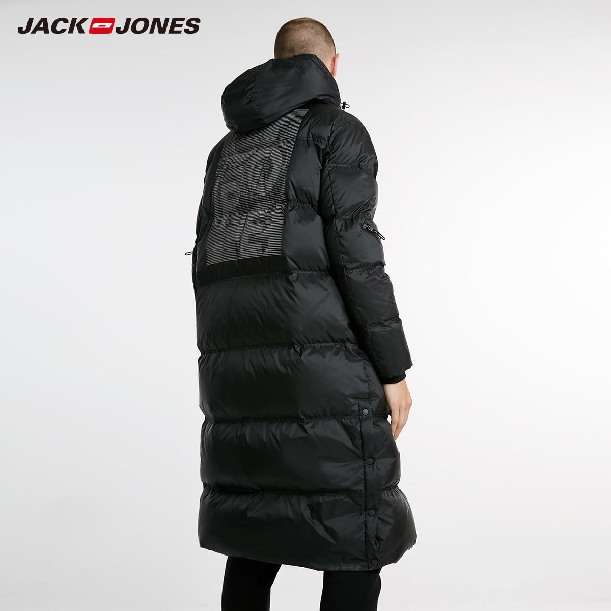 JackJones hommes hiver Long à capuche canard extérieur survêtement hiver homme décontracté mode doudoune manteau homme | 218312520 - 4