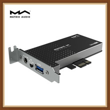 Matrix Element H Hi-Fi USB 3.0 Interface Expansion Card Crystek Femtosecond Clock