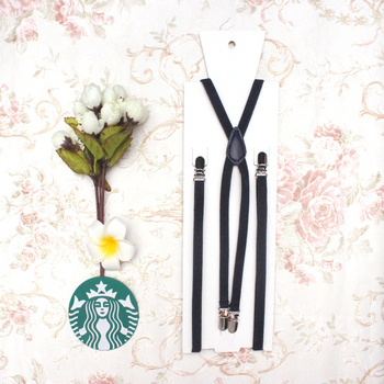 1cm/0.39inch width X-back creative unisex women's skinny suspender slim Handmade brace Cutie Creative Slim Thin Body 2