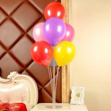 Lot Plastic Balloon Holder Support Sticks Cup PVC Rods for Balloons with Party Decor Accessories