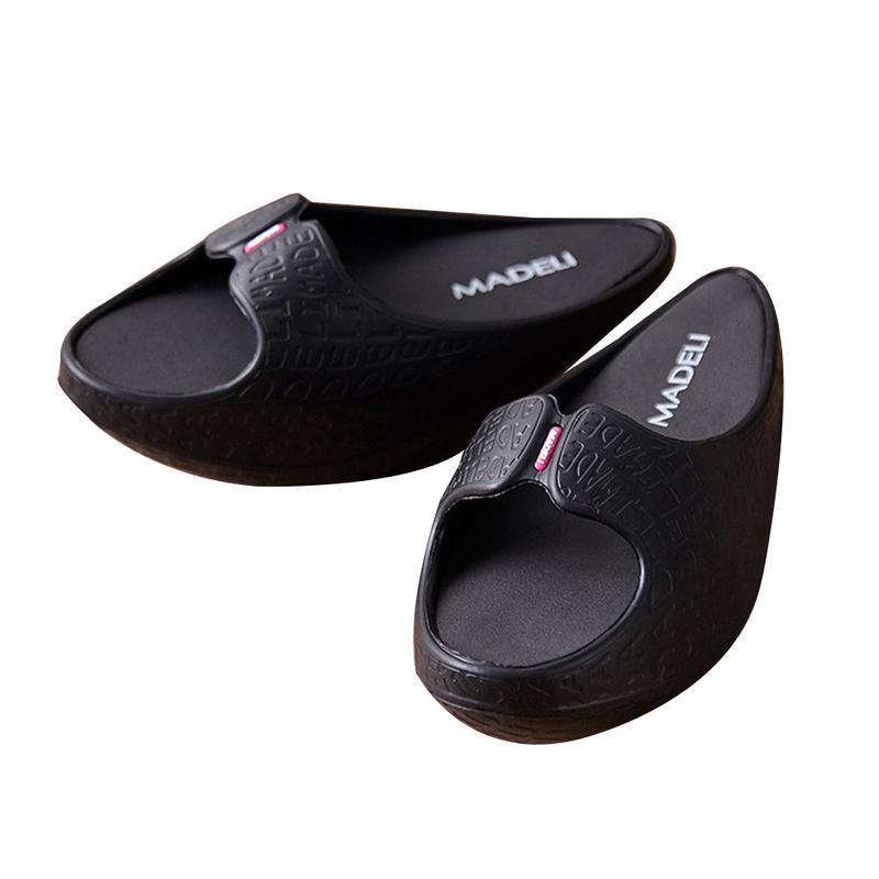 Swyivy Frauen Abnehmen Schuhe Ofenrohr Körper Sculpting Halb-füße Schuhe 2018 Verlieren Wight Massage Weibliche Toning Schuhe Negativen Ferse Fitness & Bodybuilding Toning-schuh