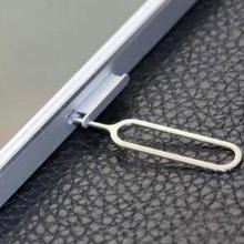10 шт. извлечение сим-карты Pin ключ инструмент игла sim-карты лоток держатель извлечения Pin для iPhone7 6 5 для Xiaomi3 для samsung#25