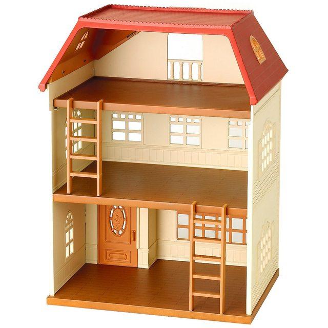 Doll Houses SYLVANIAN FAMILIES 2458889 Toys Rag Bliss Reborn LOL Barbie Miniature Home souvenirs