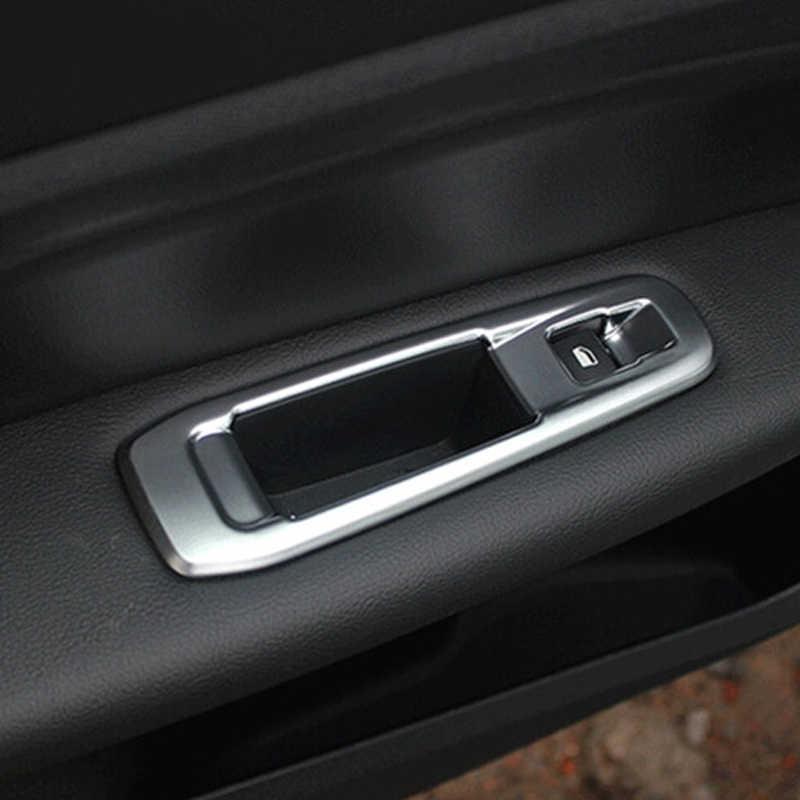 Meu bom interruptor da janela do carro capa de vidro levantador botão painel decoração adesivo para peugeot 308 acessórios do carro