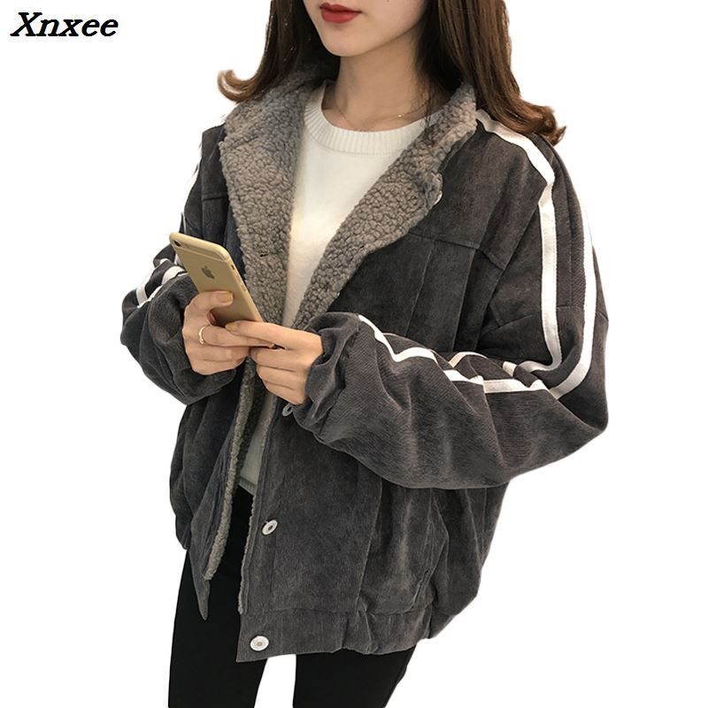 New 2018 Warm Cotton Long   Parka   Plus Size Winter Jacket Women Coat Thick Cotton Padded Wadded Inverno Casaco Outerwear Xnxee